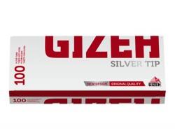 Tūbos cigaretėms Gizeh Silver Tip, 100 vnt.