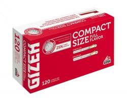 Tūbos cigaretėms Gizeh COMPACT Size, 120 vnt.