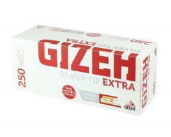 Tūbos cigaretėms Gizeh Silver Tip EXTRA 250