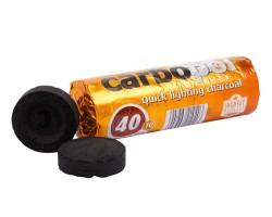 Medžio anglis vandens pypkėms CARBOPOL, 40 mm