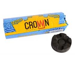 Medžio anglis vandens pypkėms CROWN, 40 mm