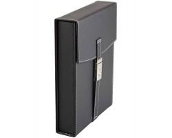 Kelioninis humidoras FARO juodas (10 cig.)