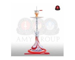 Kaljanas AMY Globe 76cm 1' (4') silikonas (raudonas)