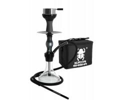 Kaljanas KAYA Poxy juoda. 50cm, silikoninė žarna, karščio kamera